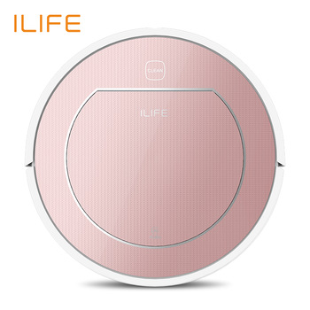 ILIFE V7s Plus Robotic Vacuum Cleaner Sweep&Wet Mop Simultaneously For Worthy Floors&Carpet Flee 120mins before Robotically Fee