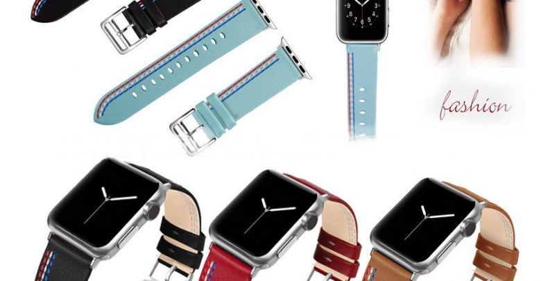 Understand Accessories  Leather For Apple Understand Band 44mm 40mm & Apple Understand Bands 42mm 38mm Series 4 3 2 1 Understand Strap AW879