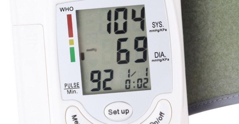 Well being Care Show screen Automatic Digital LCD Existing Wrist Blood Stress Show screen Coronary heart Beat Rate Pulse Meter Measure White Lift