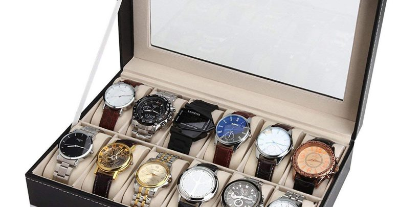 Spy Situations PU Leather Watches Present off Case Glass Top Spy case 10 Slot Spy Field 12 Slot Spy Field Watches Present off Case D20