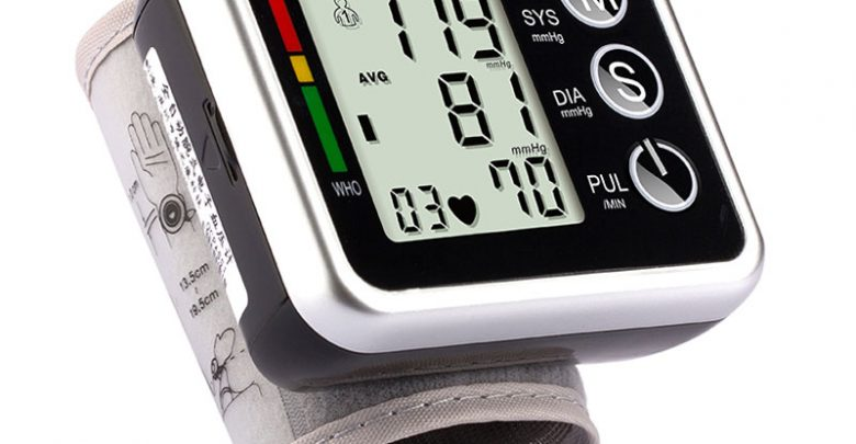 Germany Chip Automatic Wrist Digital Blood Force Note Meter Cuff Blood Force Measuring Neatly being Note Sphygmomanometer