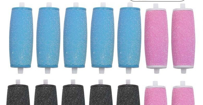 2015 Health Care Foot Care Gentle Gentle Negate Pedicure Demanding Pores and skin Feet Care 3 x Remover Refills Replacement Rollers