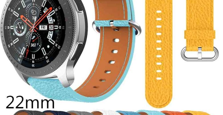 Deem Band strap for Samsung Galaxy Deem 46mm 22mm traditional Helpful soft Leather wristbands straps For Huawei Deem GT 46mm HOT