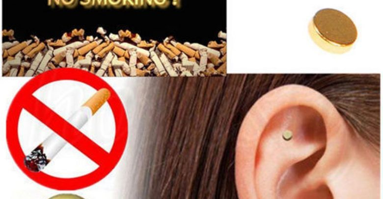 Health Care Magnet Stop Smoking Acupressure Patch Health Remedy Discontinue Smoking Anti Smoke Patch Remedy Magnet Auricular Massager