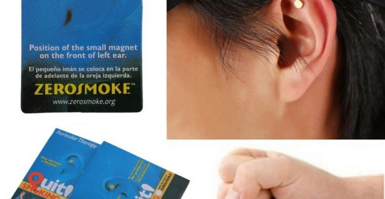 Health Care Magnet Hand over Smoking Acupressure Patch NO Cigarette Health Treatment Hand over Smoking Anti Smoke Patch Smokeless Smoker