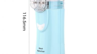 Health Care Mesh Nebulizer Handheld Dwelling Formative years Adult Bronchial asthma Inhaler Mini Nebulizador Care Inhale Ultrasonic Nebulizer
