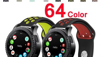 Look-Strap Packed with life Samsung Band Gear S3 42mm 20mm Frontier 22mm Silicone for Galaxy 46mm